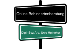 Logo Online Behindertenberatung Dipl.-Soz.Arb. Uwe Heineker